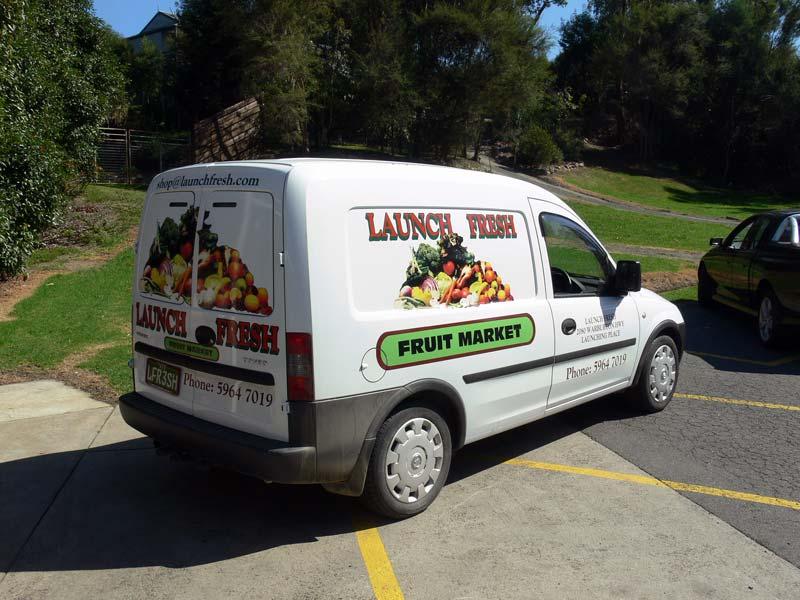 The Launch Fresh Van
